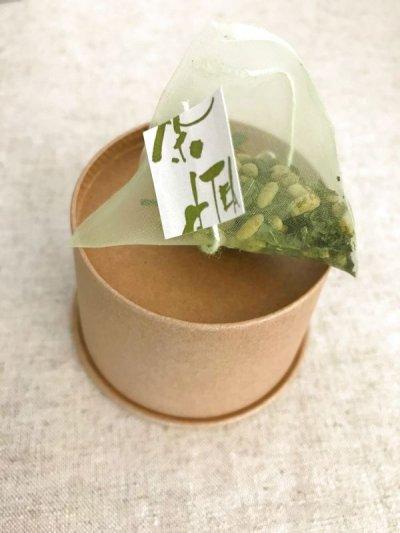 画像1: 抹茶入り玄米茶 雪室こめ茶ティーバッグ(3g×10p)